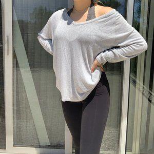 Brandy Melville Oversized Sweater in Gray